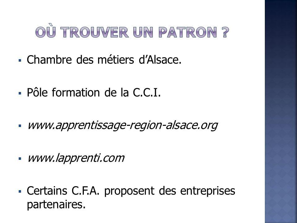  Chambre des métiers d'Alsace.  Pôle formation de la C.C.I.