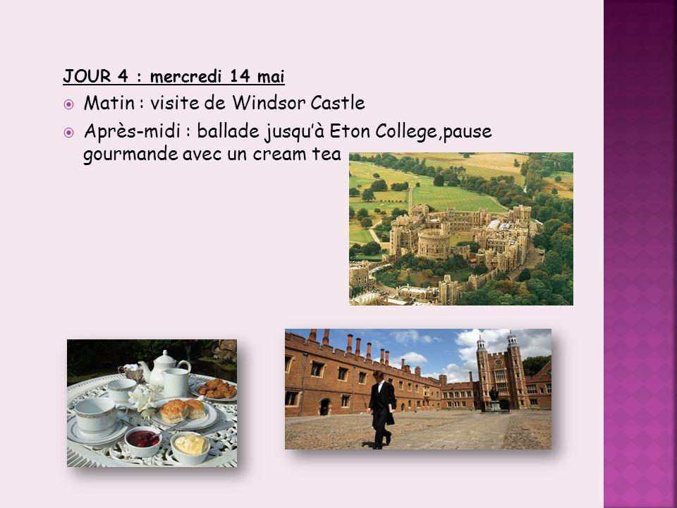 9 JOUR 5: jeudi 15 mai:  Matin: visite des Warner Bros Studios  Après-midi : visite de Kew Gardens