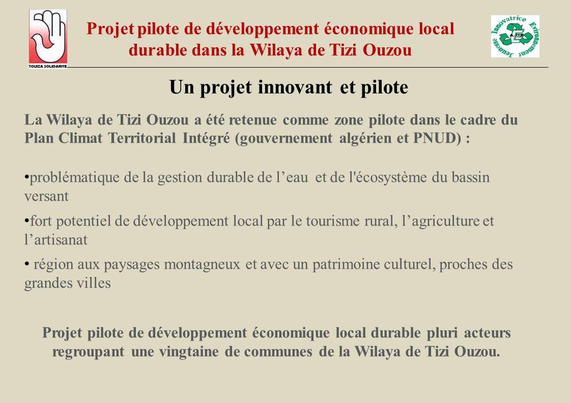 La Wilaya de Tizi Ouzou a été retenue comme zone pilote dans le cadre du Plan Climat Territorial Intégré (gouvernement algérien et PNUD) : problématiq