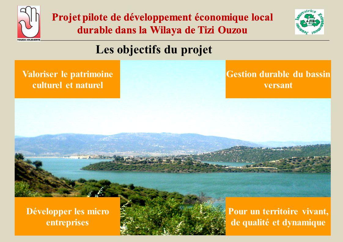Les objectifs du projet Les partenaires du projet ont pour objectif de contribuer par une gestion participative de tous les acteurs à un développement