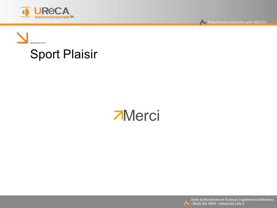 Sport Plaisir  Merci