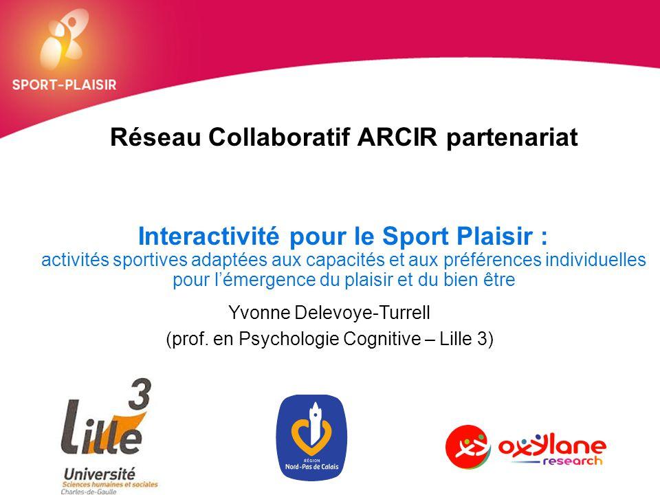 Réseau Collaboratif ARCIR partenariat Interactivité pour le Sport Plaisir : activités sportives adaptées aux capacités et aux préférences individuelle