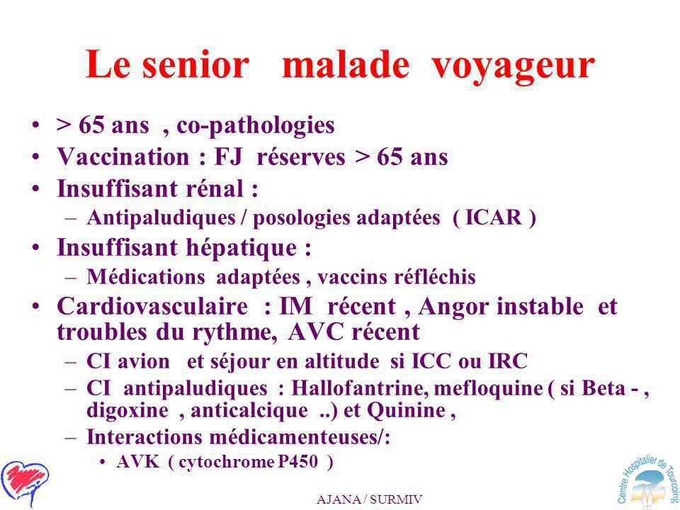 AJANA / SURMIV Le diabétique voyageur - 2 Médicaments – matériels d'auto- injection – glucomètre –Réserve suffisante >> durée du séjour –bagage à main
