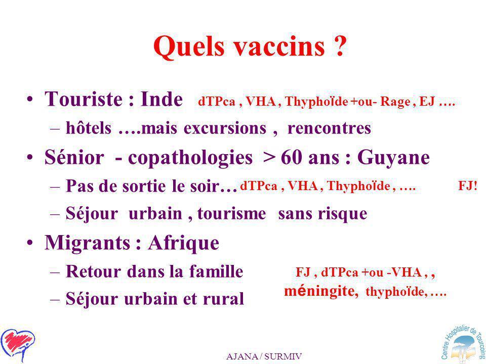 AJANA / SURMIV Aucune infection ne protègerait l'individu infecté à vie !