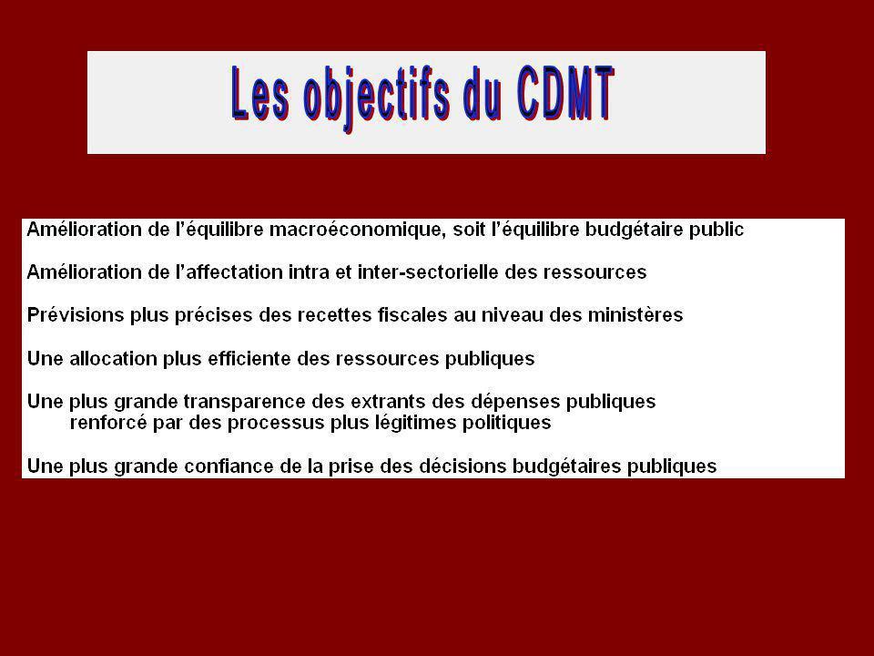 Les dimensions opérationnelles du CDMT