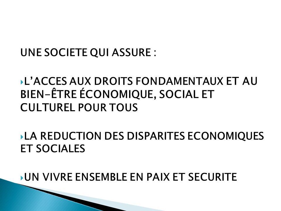 LA COHESION SOCIALE L'INTEGRATION L'INTERCULTURALITE