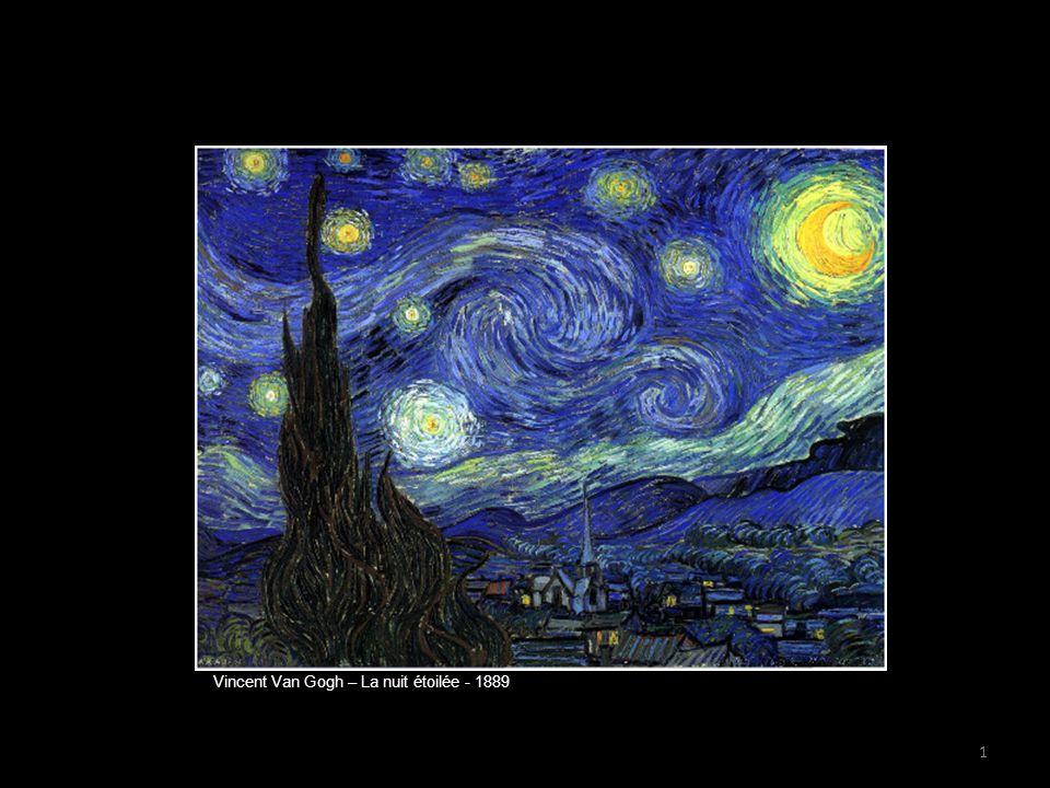 Vincent Van Gogh – La nuit étoilée - 1889 1