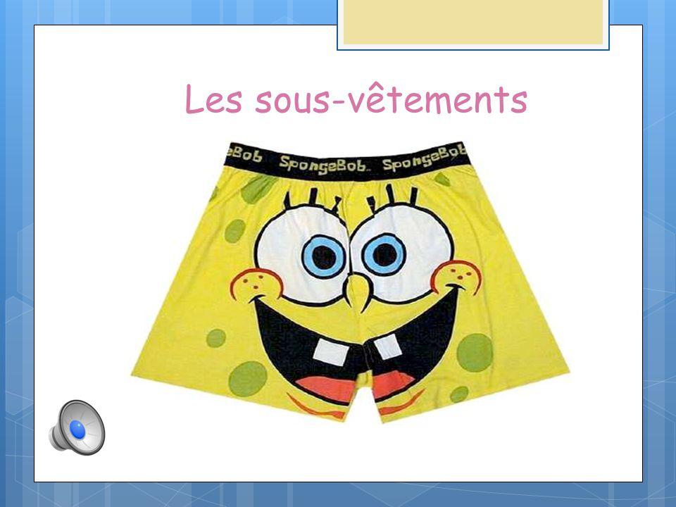 Les sous-vêtements