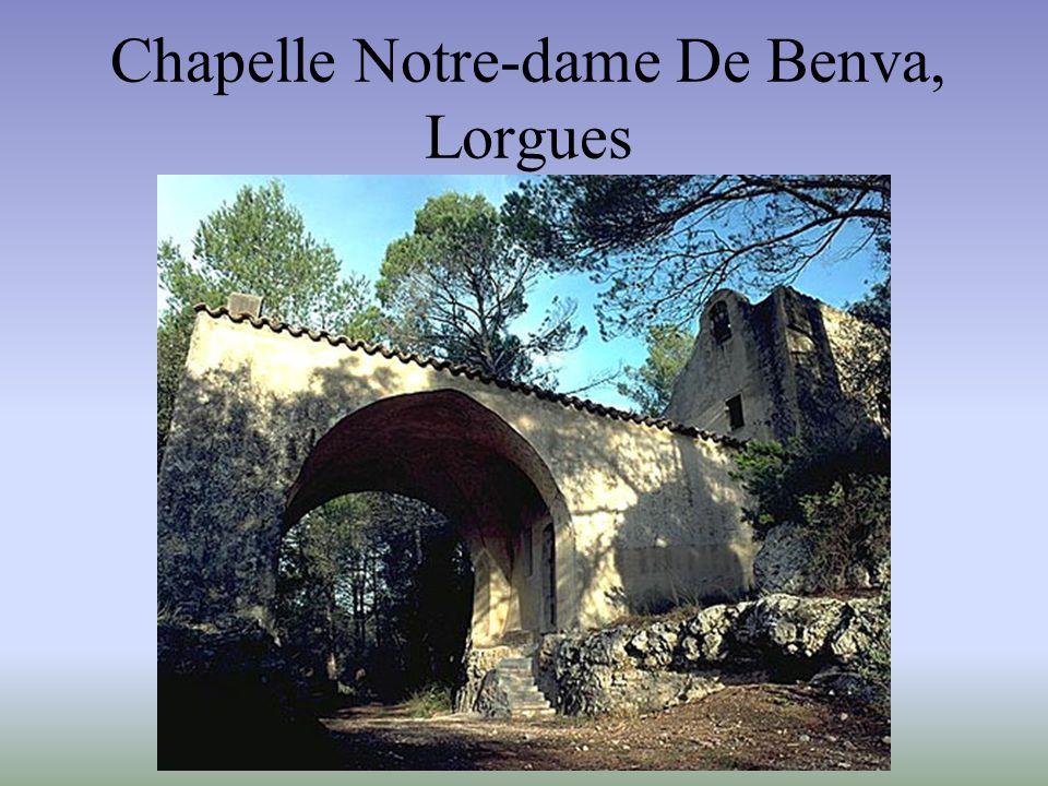 Les chapelles peintes des Alpes-Maritimes et du Var Chapelle Notre-Dame de Benva, Lorgues Chapelle Saint-Erige, Auron, commune de Saint- Étienne- de-T