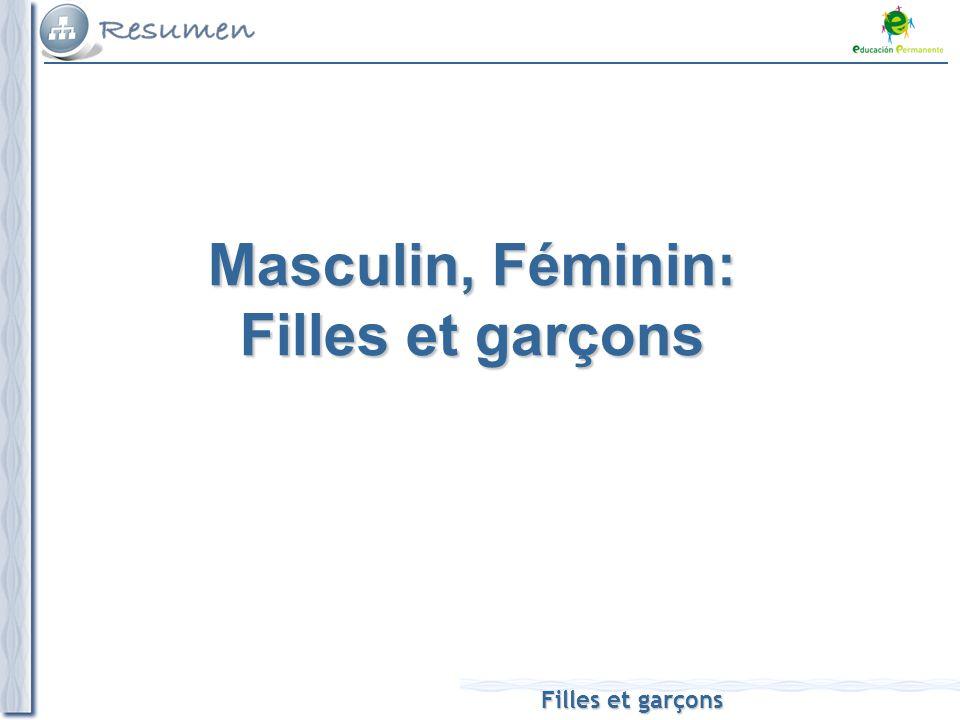 Filles et garçons Masculin, Féminin: Filles et garçons