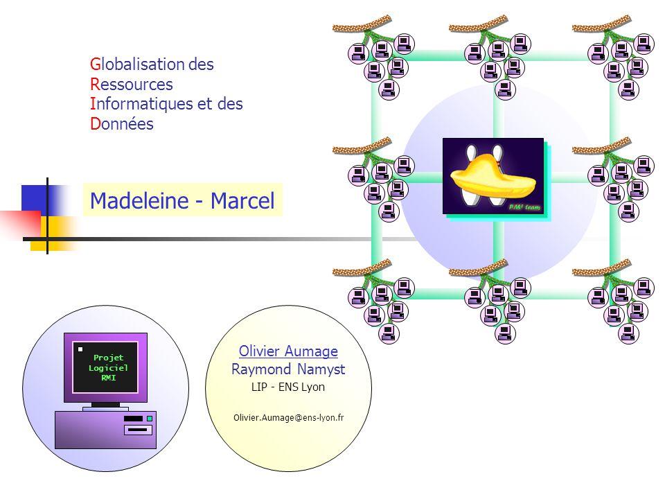 Support multi-grappe Exploitation des Grappes de grappes Réseaux intra-grappes rapides Liens inter-grappes rapides Hétérogénéité au niveau réseau Réseau à haut débit Réseau haute performance