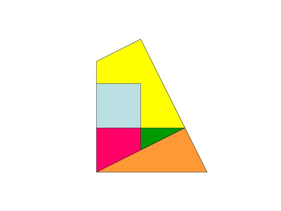 pour obtenir un carré… une rotation dont on déterminera le centre et l'angle…
