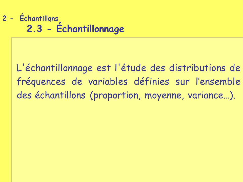 6 - Estimation par intervalle de confiance 6.1 - Construction d un abaque