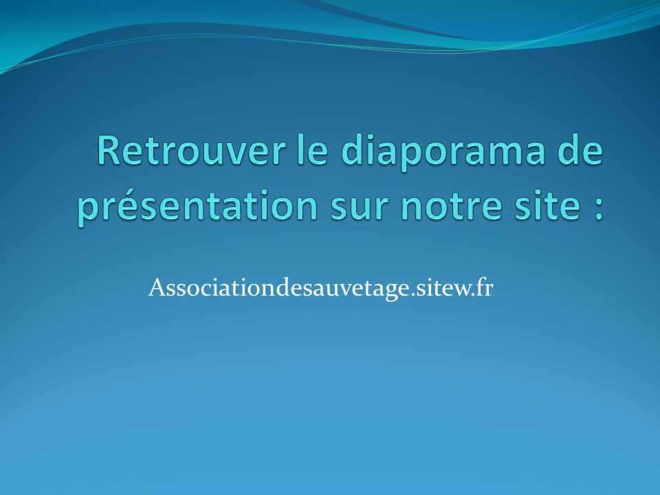 Associationdesauvetage.sitew.fr