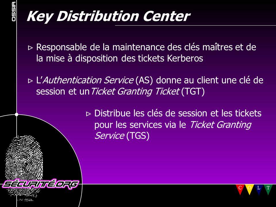 Problèmes liés au NAT  L'adresse du client se trouve dans le ticket  Nécessité d'ajouter l'adresse translatée traduite dans le ticket  Patch pour la version 5.1 (MIT Kerberos) © 2001 Sécurité.Org