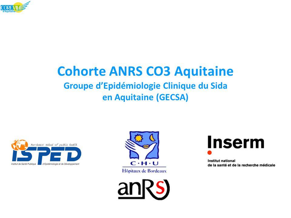 Cohorte ANRS CO3 Aquitaine Groupe d'Epidémiologie Clinique du Sida en Aquitaine (GECSA)