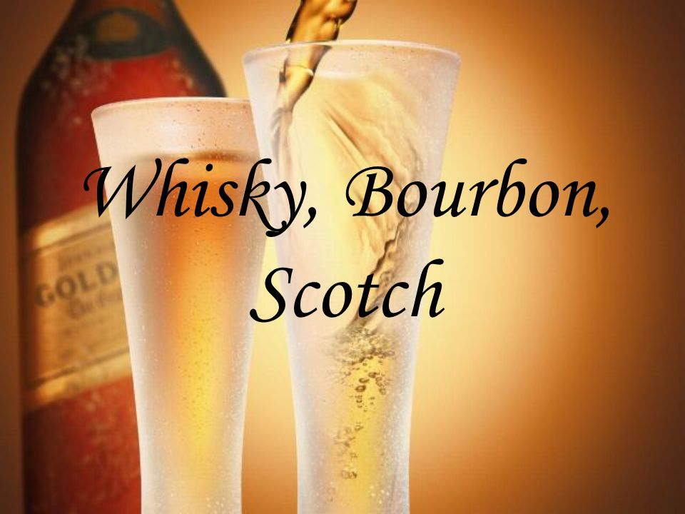 Scotch Whisky Il désigne un whisky élaboré à partir d'un mélange d'eau, de malt et d'autres céréales.