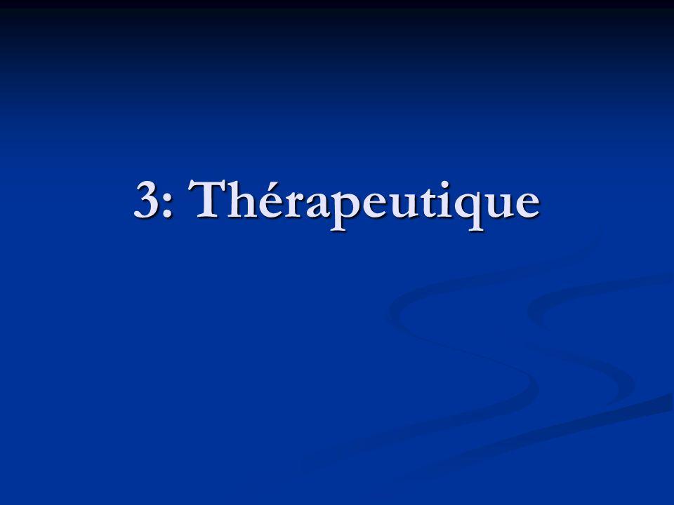 3: Thérapeutique