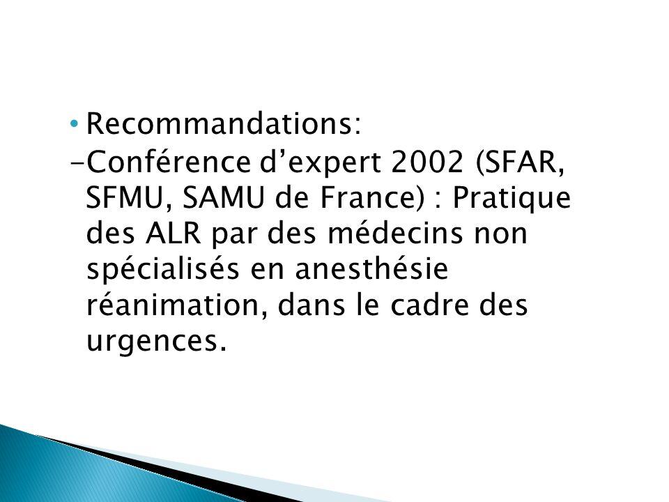 -Conférence de consensus 2005 (SFMU) : Prise en charge des plaies aux urgences  Traumatismes du membre inférieur : Bloc ilio-fascial;  Traumatismes du membre supérieur : Bloc tronculaires au poignet (Ulnaire, Radial, Médian); Anesthésie Gaines des Fléchisseurs;  Traumatisme facial : Bloc du V1-2-3.