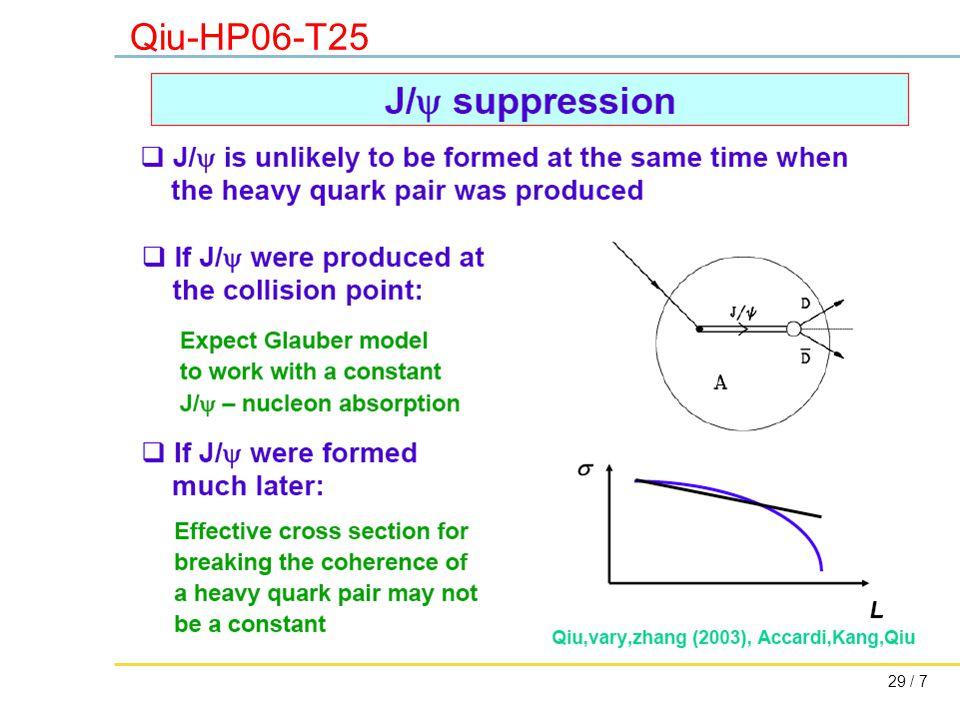 29 / 7 Qiu-HP06-T25