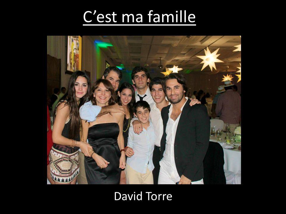 C'est ma famille David Torre