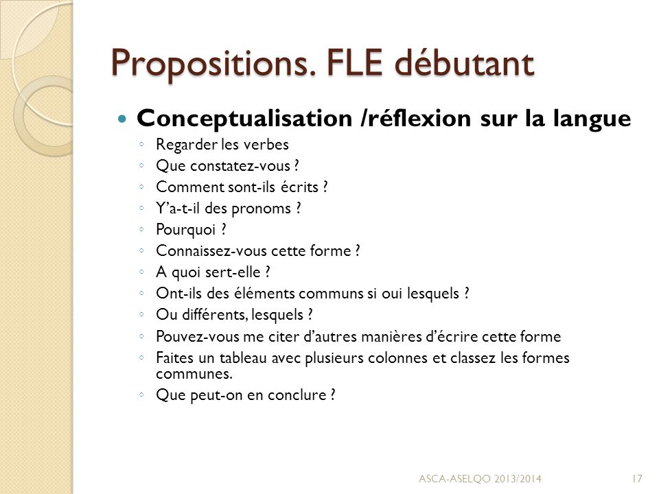 Propositions.
