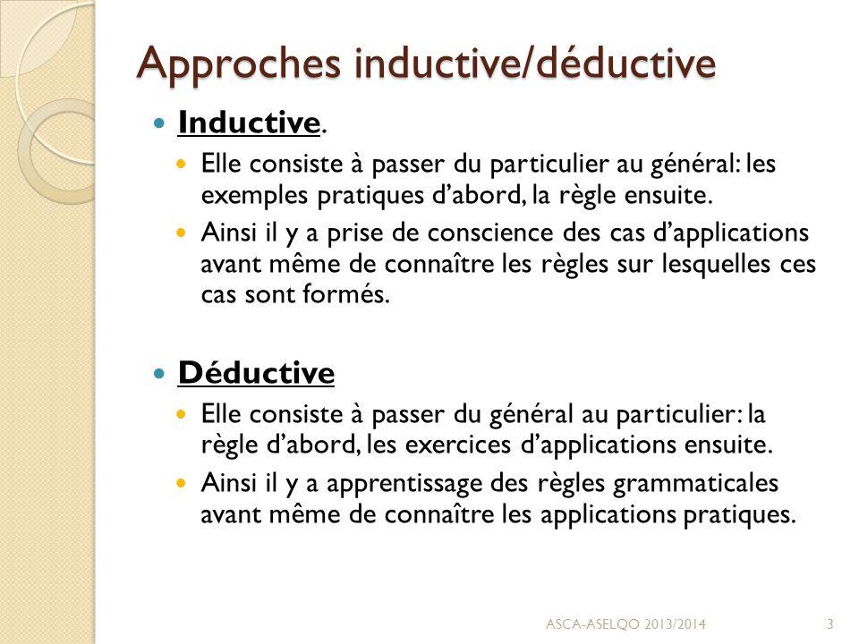 Approches explicite/implicite Explicite.