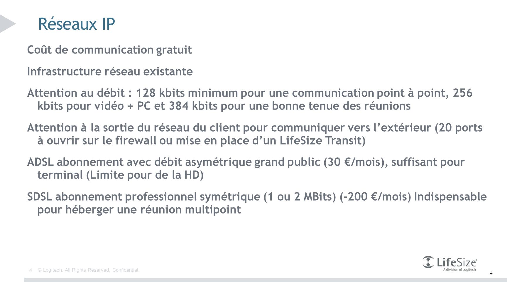 35 © Logitech. All Rights Reserved. Confidential. Envoyer une invitation depuis un client ClearSea