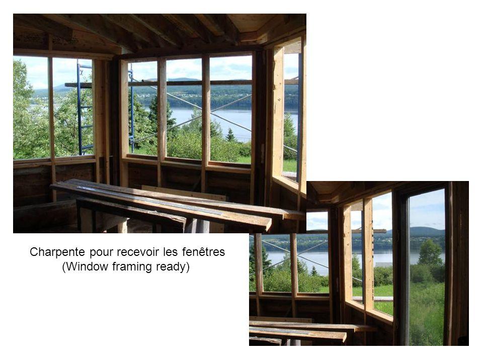 Charpente des fenêtres (Window framing)