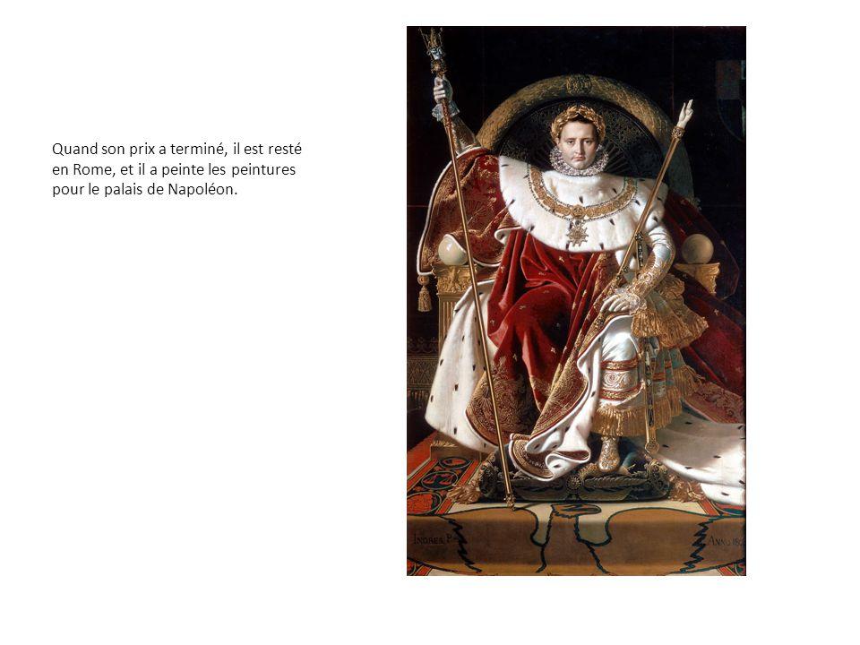 En 1820, il a habité en Florence, et il a travaillé dans la peinture « Vœu of Louis XIII » pour la cathédrale de Montauban.