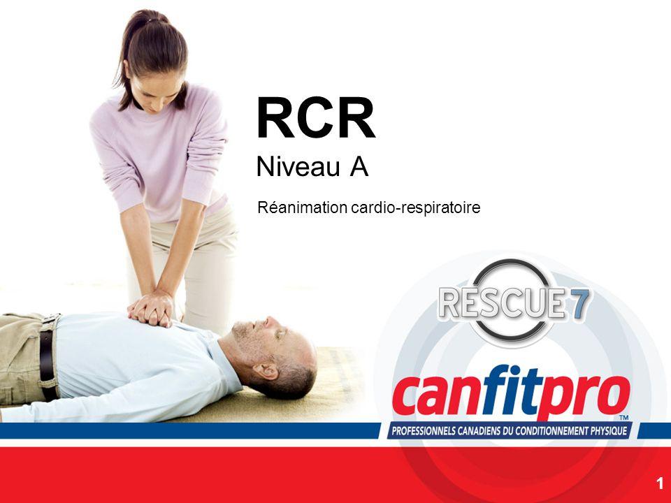 CPR Course Level 1 RCR Niveau A 1 Réanimation cardio-respiratoire