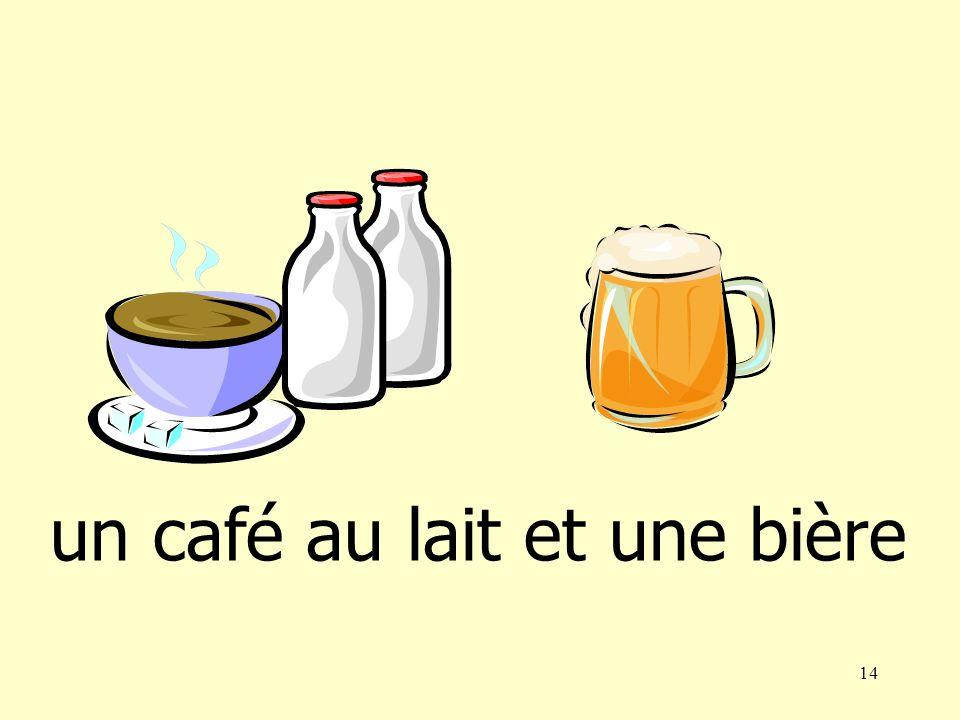13 un thé et un coca