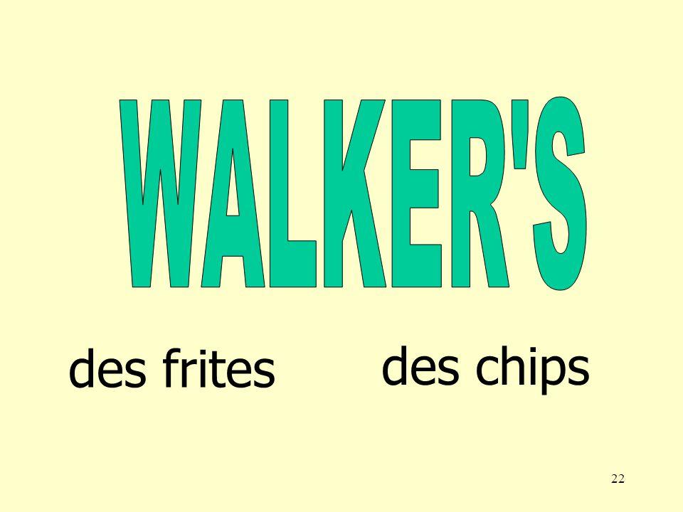 21 des frites des chips