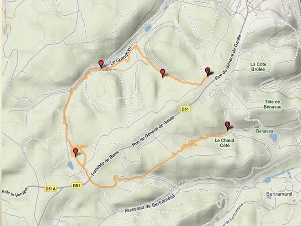 La Fontaine des trois soldats Dans une forêt domaniale à l'extrémité ouest du vallon de Benaveau et à environ 4 km Sud-Sud Ouest du centre d'Epinal, la fontaine, ou plutôt la source, sort d'une cavité naturelle pratiquée à la base d'un rocher d'assez faible dimension.