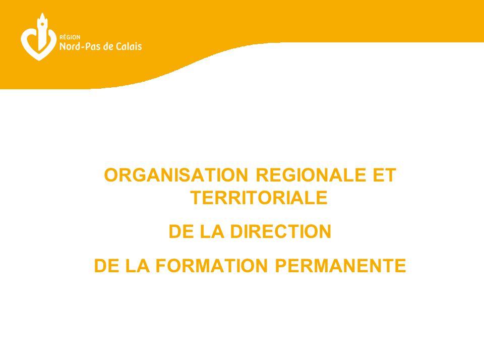 L'ORGANISATION REGIONALE