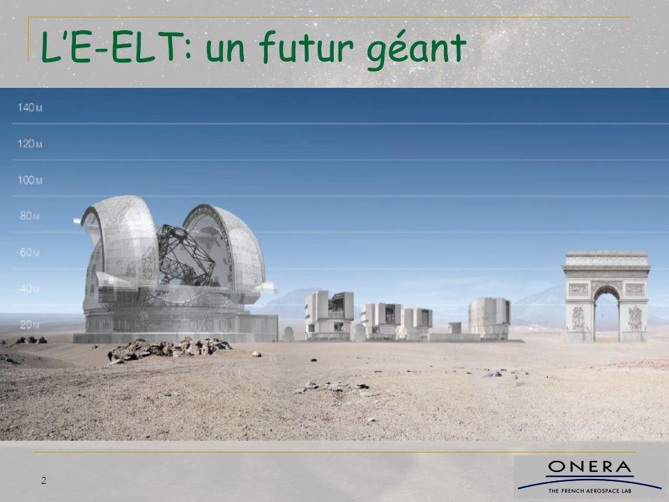 33 Conclusions Systèmes à grand champs pour l'E-ELT sont fondamentaux.