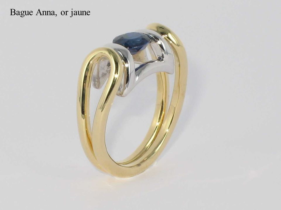 Bague Anna, or jaune