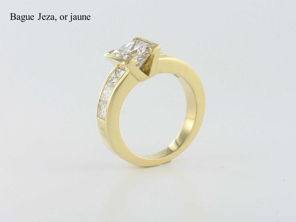 Bague Jeza, or jaune