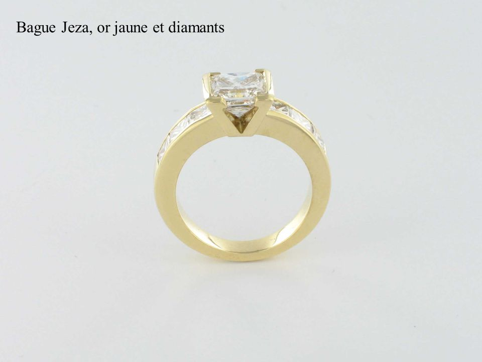 Bague Jeza, or jaune et diamants