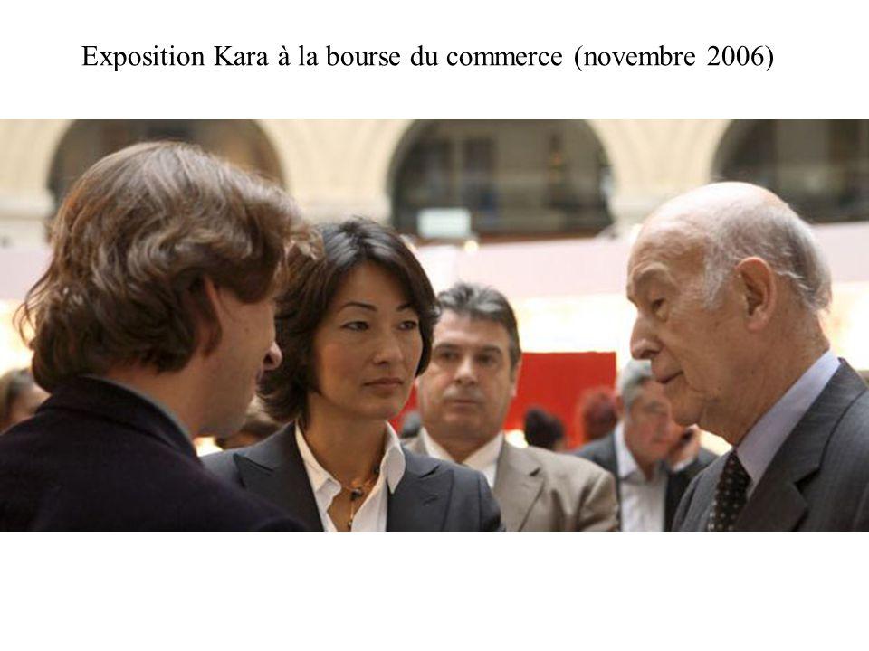 Exposition Kara à la bourse du commerce (novembre 2006)