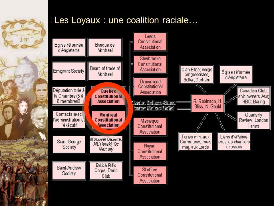 Les Loyaux : une coalition raciale…