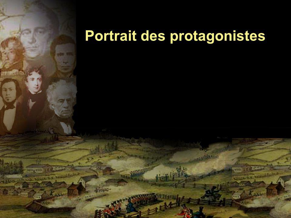 Portrait des protagonistes