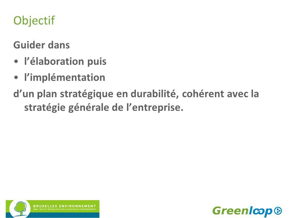 Stratégie en durabilité Partie I