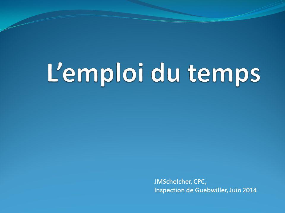JMSchelcher, CPC, Inspection de Guebwiller, Juin 2014