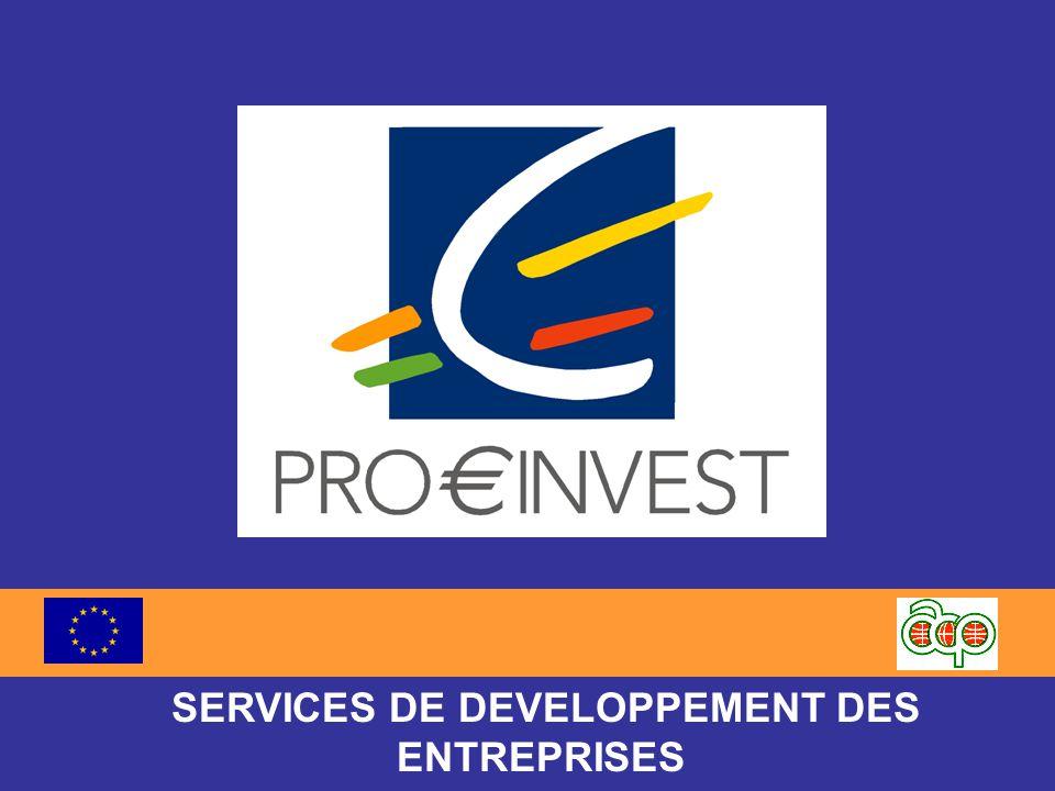 SERVICES DE DEVELOPPEMENT DES ENTREPRISES