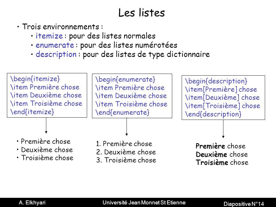 Diapositive N°14 A.