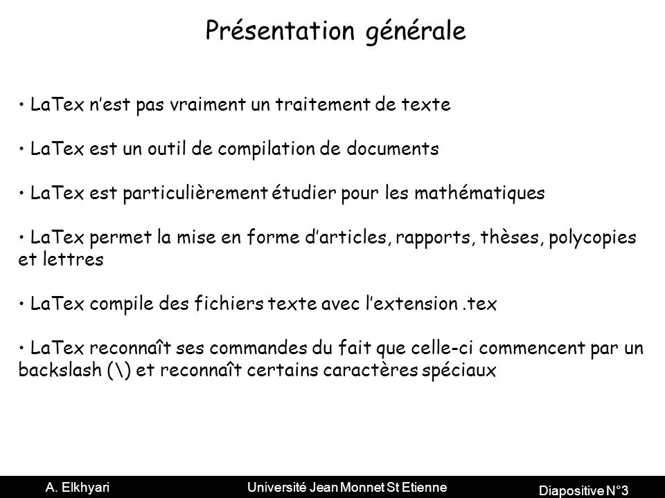 Diapositive N°3 A.