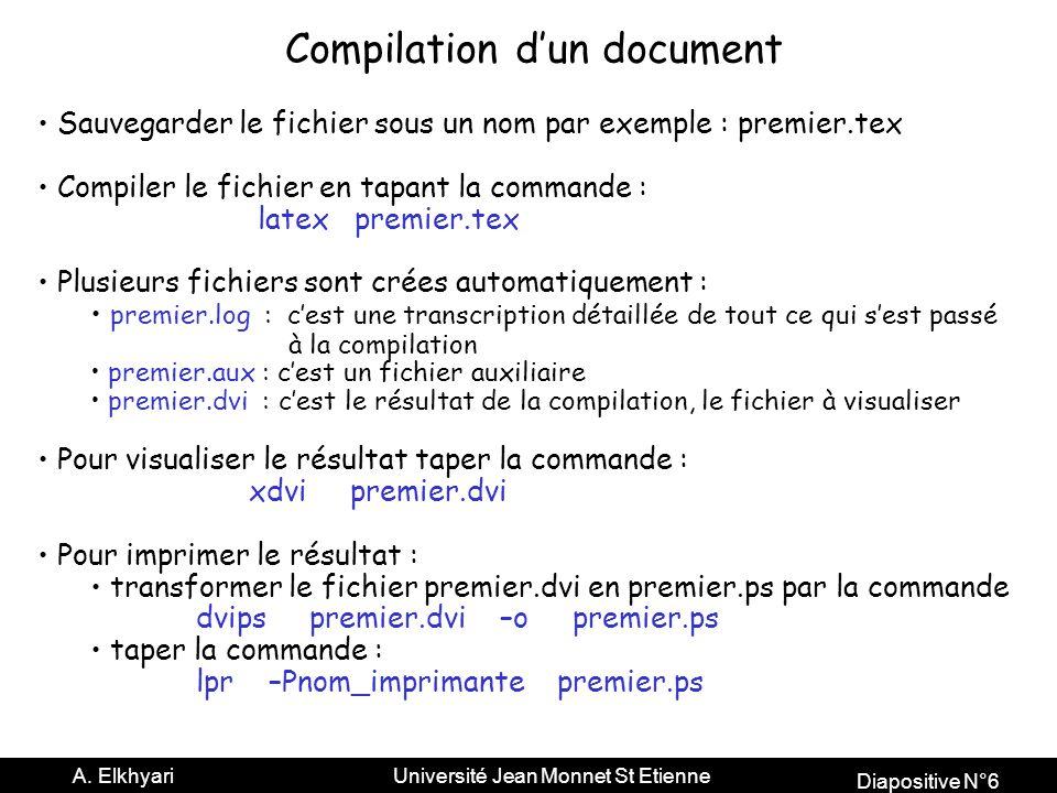 Diapositive N°6 A.