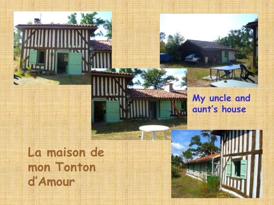 La maison de mon Tonton d'Amour My uncle and aunt's house