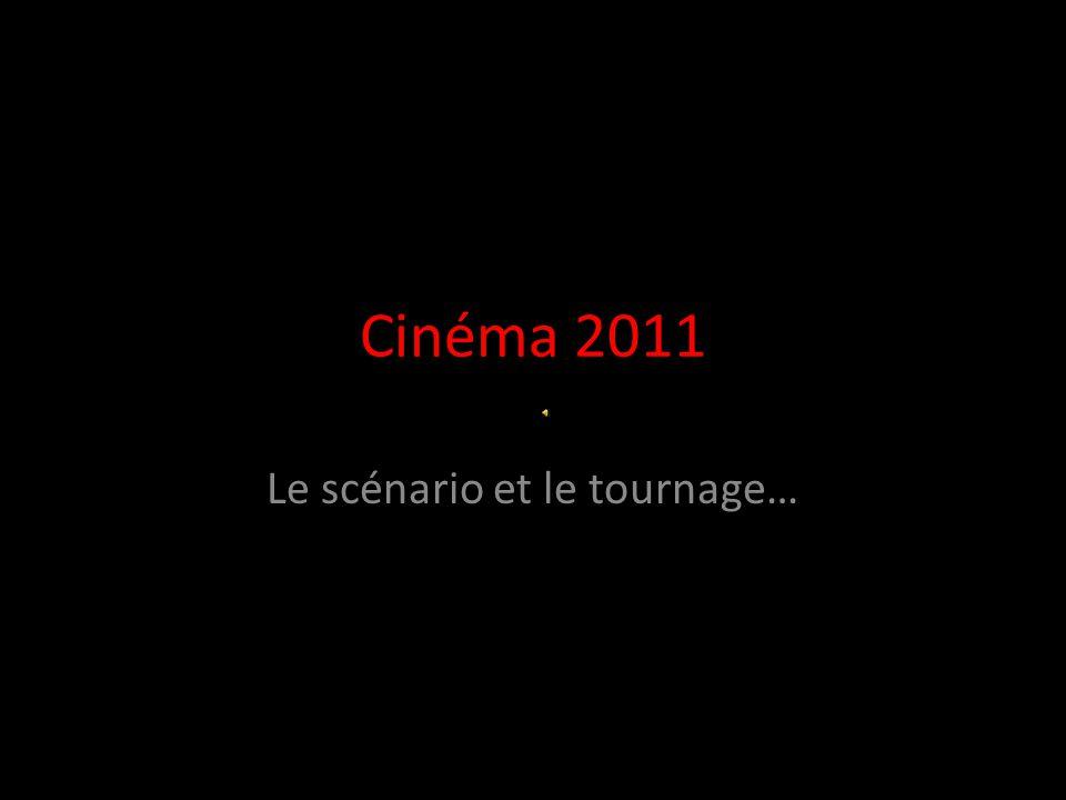 Cinéma 2011 Le scénario et le tournage…